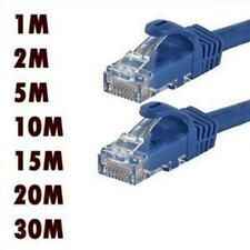 1M-10M Network Ethernet RJ45 Cat5E CAT6 PATCH Internet Cable Lead Connectors