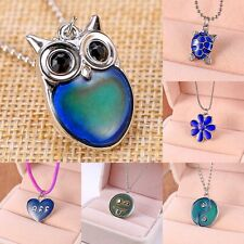 Color-Changing Mood  Heart Tortoise Star Pendant Necklace Women Party Hot Gift