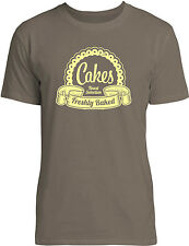 Big Texas Finest Selection Cakes (Yellow) Mens Fine Jersey T-Shirt