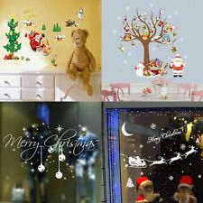Christmas Snowflakes Tree Window Wall Sticker Decal Removable Xmas Decoration