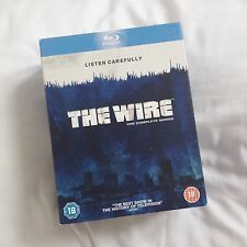 THE WIRE complete series 1-5 blu-ray box set