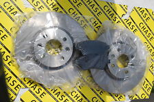 Renault  Megane 03-05, Scenic 03-9/05 (Bosch Type) Front Brake Discs And Pads