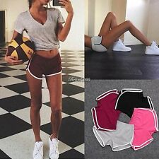 Women Casual  Pants Sports Shorts Gym Workout Waistband Skinny Yoga Short Pants