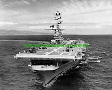 USS Valley Forge  LPH-8  Photo Military  Black n White  UH-34 Helicopters USN