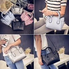 Lady Women Girls Handbag Cat Face Shoulder Bag Leather Crossbody Satchel Clutch