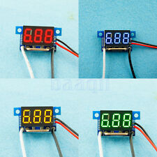 "0.36"" DC 0-5A/10/50/100A DC Current Amp Meter Panel Amp Digital Gauge Display DA"