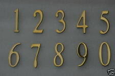 """Address Numbers, Mailbox numbers, House numbers, 2"""" BRASS -  Self Adhesive"""