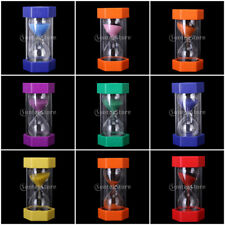 16cm Hourglass Sandglass Sand Timer Timing Sports Kitchen Cooking Game Home Deco
