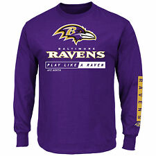 Baltimore Ravens 2016 Primary Receiver Long Sleeve NFL T-Shirt