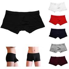Men Underwear Design Sexy Boxer Underpants Brief Pouch Modal Soft Trunks