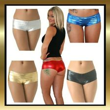 +Wet Look Hot Pants Pole Dancing / Dance Shorts by Juicee Peach