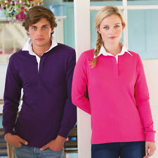 Front Row Long sleeve plain rugby shirt (FR100)