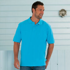 Russell Classic Cotton Pique Polo J569M Mens Easy Fit Classic Style Tshirt Top