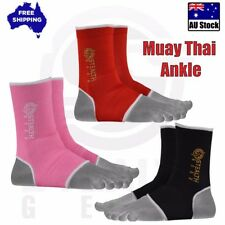 Muay Thai Kick Boxing Foot Ankle Gym UFC MMA Supports Anklet Brace Stealth Gear