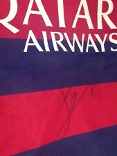 F.C Barcelona shirt signed by Messi with COA