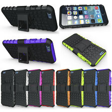 Rugged Grip Armor HeavyDuty 2in1 Hybrid Kickstand Case Cover For Apple iPhone