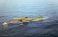 Soviet Navy Juliett Class Guided Missile Submarine Color Photo Military USS
