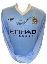 Signed Mike Summerbee Manchester City Home Shirt