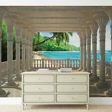 Beach Tropical WALL MURAL PHOTO WALLPAPER (1360DK)