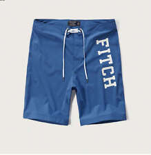 NWT ABERCROMBIE & FITCH MEN'S SWIM TRUNKS SHORTS - SIZE 32 OR 34