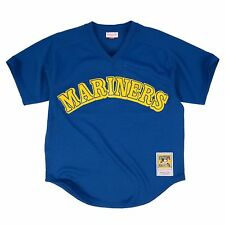 NEW MITCHELL & NESS KEN GRIFFEY JR SEATTLE MARINERS BATTING PRACTICE JERSEY MLB