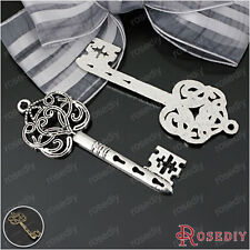 10PCS 55*22MM Zinc Alloy Key Charms Pendants Jewelry Findings Accessories 22689