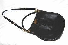 MARC BY MARC JACOBS 'Classic Q - Hillier' Black Leather Hobo Bag
