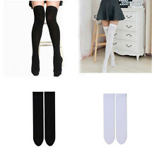Mini Women Girls Fashion Opaque Over Knee Thigh High Elastic Sexy Stockings Hot