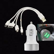 4in1-USB&CAR-Charger-Cable-for-iPhone-4-4S-iPod-Nokia-Samsung-HTC-LG HUAWEI sony
