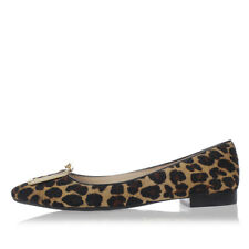 TORY BURCH Woman Leopard Print Leather GRAYSON FLAT Shoes