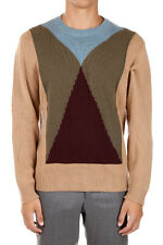 VALENTINO Man New Cashmere Round Neck Sweater Made in Italy Original