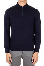 BRUNELLO CUCINELLI Man Zipped Cashmere Sweater Made in Italy
