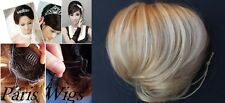 Fashion Ladies Bun Hair Piece Extension Bride Wedding Party DIY Styling Hair FS
