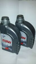 FUCHS TITAN HYP 90 HYPOID GEAR OIl 1L 1 LITRE BOTTLE TWIN PACK 80W-90 GL-5 80W90