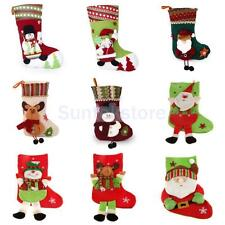 Christmas Stocking Xmas Tree Hanger Decor Sock Hanging Gift Xmas Present Sack