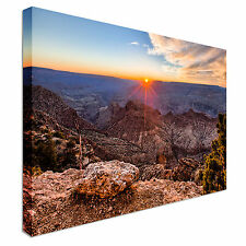 Grand canyon sunset Canvas Wall Art prints high quality