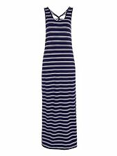 JOHN LEWIS JERSEY STRIPED MAXI BEACH DRESS UK 10 BNWT RRP £32.50