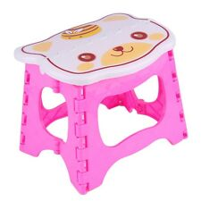 NEW Infant Baby Foldable Folding Step Stool Chair Kids Store Flat Outdoor P6