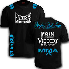 Stryker New Shorts Sleeve T-Shirt Top MMA UFC Boxing Brazilian Jiu Jitsu tee w