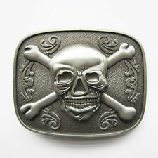 Tattoo Skull Flower Bottle Opener Belt Buckle Gurtelschnalle Boucle de ceinture