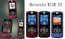 Motorola MOTO RIZR Z3 (Unlocked) Slide Mobile Phone 2G GSM Camera Bluetooth
