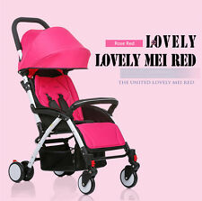 Mini Baby Stroller Travel System Umbrella Smart Pushchair Infant Carriage Charm