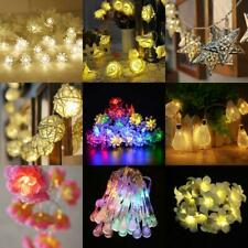 Battery Operated Wedding Party String Lamp Fairy Light Christmas Tree DIY Decor