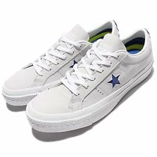 Converse One Star Blue White Leather Mens Casual Shoes Sneakers 153992C