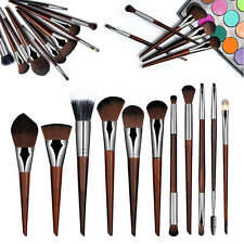 Mahogany Soft Face Makeup Brush Sets Professional Cosmetic Brush Tools Kits Hot