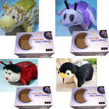 Purple UNICORN LITES CUDDLY ANIMAL PET PILLOW CUSHION NIGHT LIGHTS CUDDLE TOY