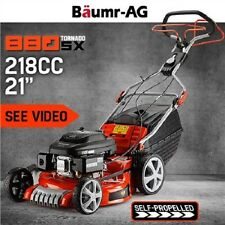 "NEW 218cc 7.5HP 4 Stroke OHV Engine 21"" Baumr-AG Lawn Mower Self-Propelled"