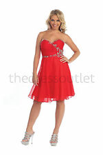 TheDressOutlet Short Homecoming Formal Prom Dress Plus Size Cocktail