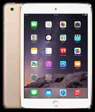 Apple iPad Mini 3 5MP 64GB 4G LTE Dual Core iOS 8.1 WiFi Only Tablet, Gold 7.9""