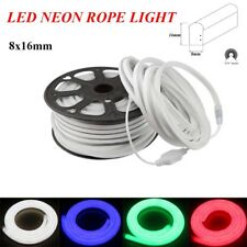 150' Ft LED Flex Neon Rope Light Xmas Holiday Party Home Outdoor Decoration 110v